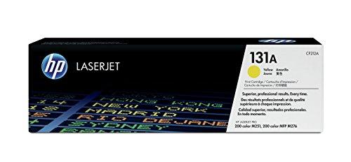 HP 131A (CF212A) Gelb Original Toner für HP LaserJet Pro 200 Color M251, MFP M276 (Laserjet Hp Toner M251nw)