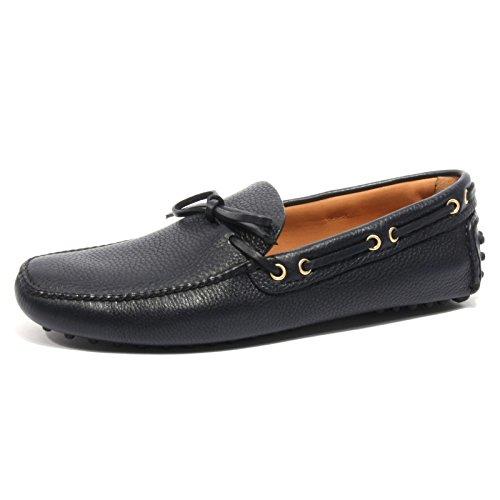 B2390 mocassino uomo CAR SHOE KUD scarpa blu loafer shoe man [9]