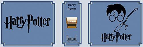 Box, Musica mit Buch und Kurbel Melodia Harry Potter W World