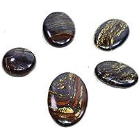Cabochon Iron Tiger Eye Set Of 3 Chakra Healing Crystal, Meditation Stones, Yoga Crystals, Spirituality Stones... preisvergleich bei billige-tabletten.eu