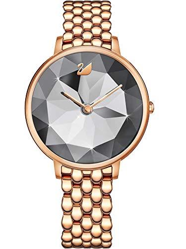 Swarovski Crystal Lake Damen-Armbanduhr 35mm Armband Edelstahl Quarz 5416023