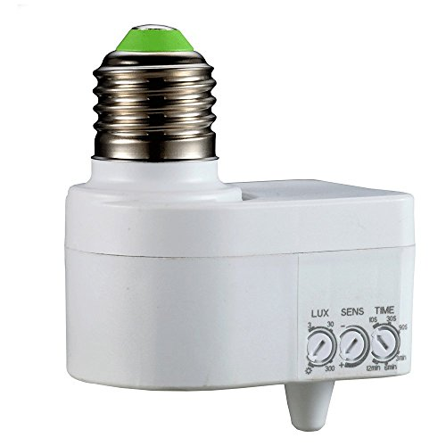 Douille Detection Mouvements 360° - Réglable - Technologie micro-ondes