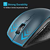 TeckNet Bluetooth Mouse, 3000DPI Wireless Mouse, 24 Month Battery Life With Battery Indicator