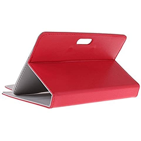 BRALEXX 9454 de A1 Funda universal – Tablet PC compatible con Amazon Kindle Fire 7 2015 Color Rojo