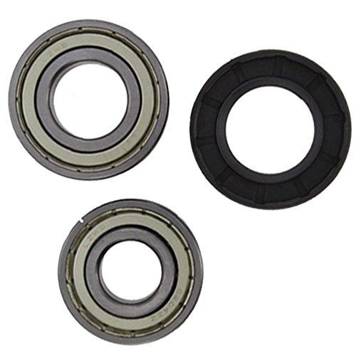 spares2go Drum Bearing & Oil Seal Kit für CREDA Waschmaschine - 17077 Kit