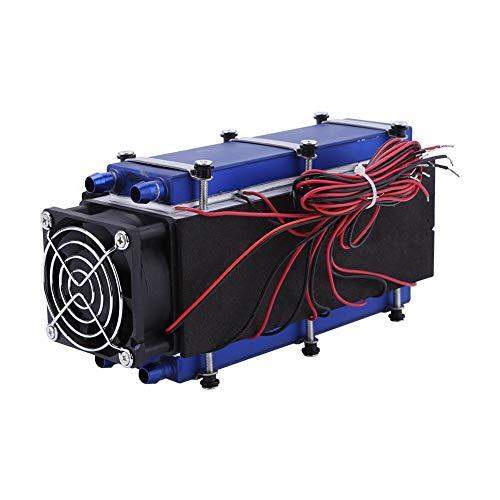 Thermoelektrischer Kühler, 12V 576 Watt 8-Chip TEC1-12706 DIY Semiconductor Kühler Thermoelektrischer Kühler Luftkühlung Gerät - Würfel 2 Pfund