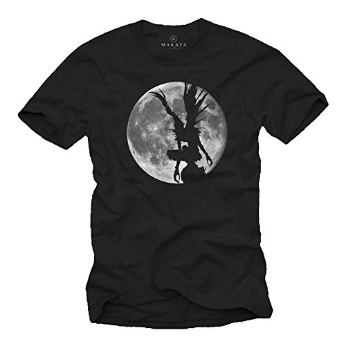 Cool Emo T-shirt (Manga T-Shirt schwarz - Shinigami - Death Note M)