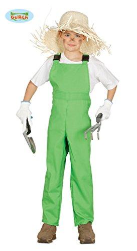 Disfraz de mono trabajo verde granjero