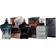 Perfumes (3) Pack Strong Man para Hombre. Body Language Sensual 100ml + Dolce Uomo 100 ml + Body Language Red 100ml. Tres Regalos al precio de uno.