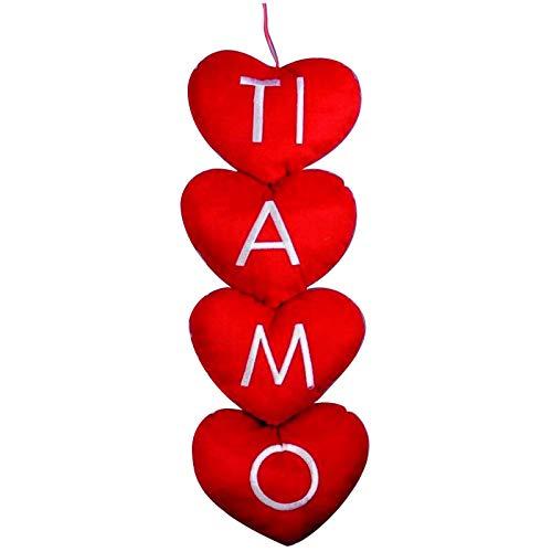 Mood srl san valentino cuori pendenti ti amo 20x60 circa