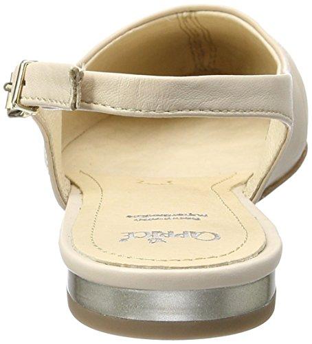 Caprice Damen 29400 Slingback Beige (BEIGE MULTI)