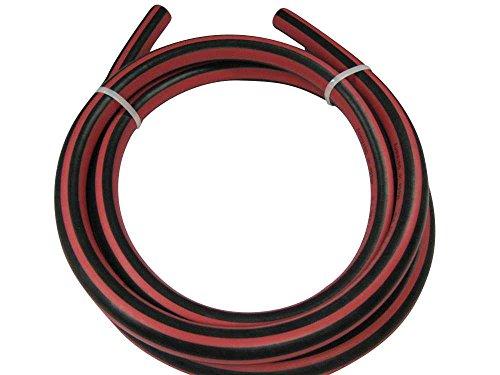 Premium-Wasserschlauch TRIX ROTSTRAHL auf 40m-Rolle in 3 Abmessungen - sehr flexibel und robust durch hochwertige EPDM Außen- und Innenschicht, Schlauchabmessung:13mm (1/2 Zoll)