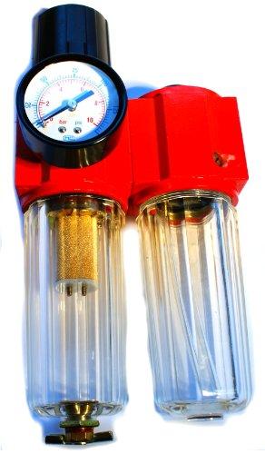 Druckluft Wasserabscheider Öler Druckminderer Öl Wartungseinheit 1/2