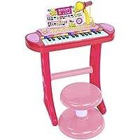 Bontempi Elektronische Orgel i-Girl mit Beinen/Mikrofon und Hocker preisvergleich bei kleinkindspielzeugpreise.eu