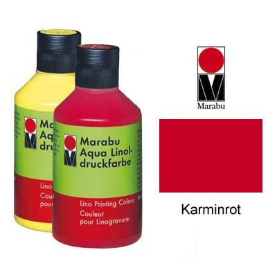 Marabu Linoldruckfarbe, 250ml, Karminrot [Spielzeug]