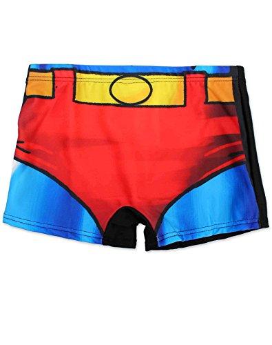 Jungen Offiziell lizenzierte Superman-Kostüm Druck Badeshorts Alter 5-6 ()
