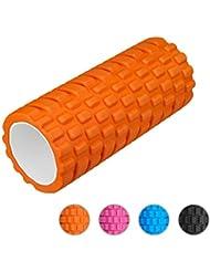 """Enkeeo - Foam Roller 13"""" x 6"""" EVA Rouleau Massage musculaires pour la libération myofastielle des tissus profonds, le massage sportif et la récupération, le pilates et le yoga"""