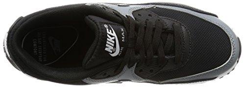 Nike Wmns Air Max 90 Prem, Entraînement de course femme Noir (Black/black/cool Grey/black)