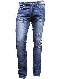 Kenzarro - Jeans Fs6634 Bleu