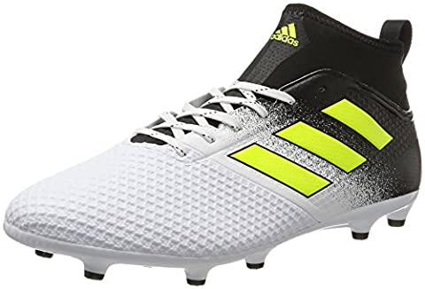 adidas Men's Ace 17.3 Fg Footbal Shoes, Multicolor (Ftwr White/Solar Yellow/Core Black), 11 UK