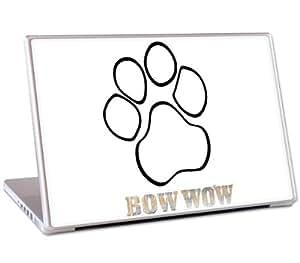 """MusicSkins-Bow Wow-Paw-Skin pour MacBook Pro et ordinateur portable 15 """""""