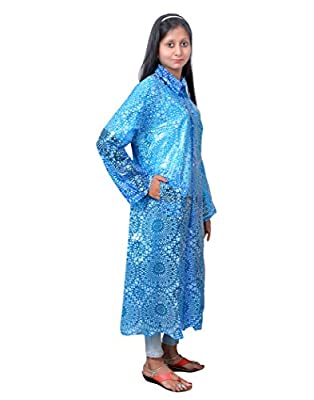 Devil Women's Printed Raincoat|Overcoat (Pack of 1)