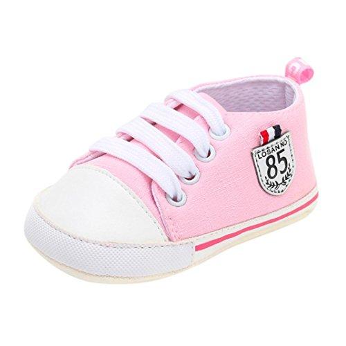 OdeJoy Baby Mädchen Jungen Brief Drucken Schuhe Solide Weich Sohle Einzig Alleinig Beiläufig Schuhe Digital Gedruckte Babyschuhe Kleinkindschuhe Halloween Karikaturschuhe ()