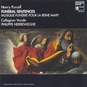 Purcell : Funeral Sentences / Musique funèbre pour la Reine Mary [Import anglais]