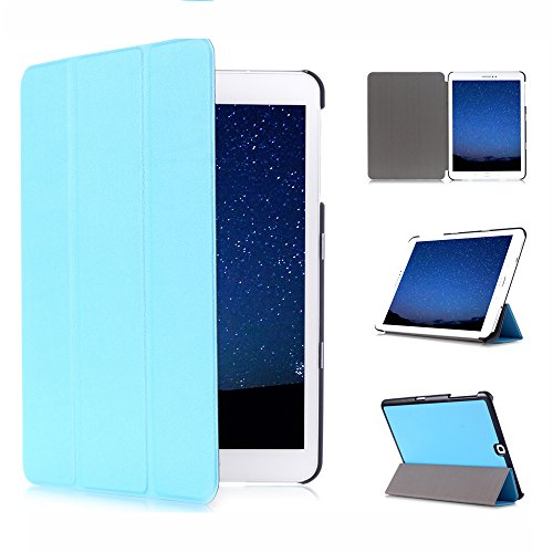 Funluna Samsung Galaxy Tab S2 9.7 Hülle, Ultra Dünn Smart Hülle Schutzhülle Tasche für Samsung Galaxy Tab S2 9.7 Zoll Tablet (SM-T810 / 815) mit Einschlaf/Aufwach Funktion