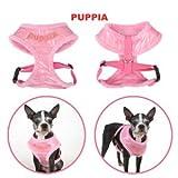 Puppia Deluxe Hundegeschirr A–Pink Lg (Brust 47–66cm)