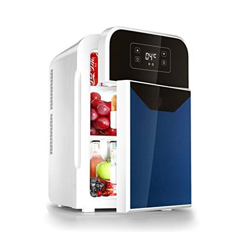 Refrigerador para Autos de 22 litros Mini refrigerador pequeño Dormitorio en casa Calefacción y Caja de enfriamiento Pantalla Digital