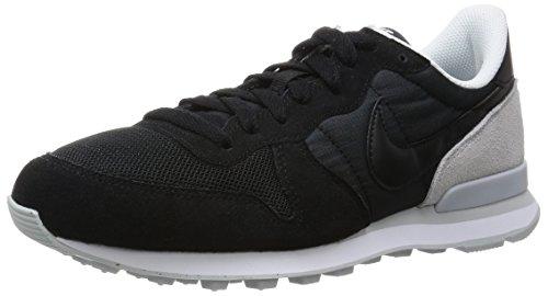 Nike Herren Internationalist Turnschuhe Schwarz (schwarz/pure platinum)