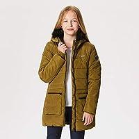 Regatta Kinder Cherryhill Insulated Fleece Lined Water Repellent Faux Fur Hooded Jacke