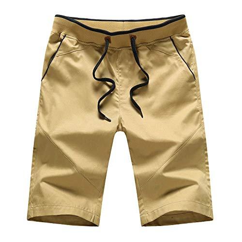 YURACEER Shorts Hosen Männer Sommer Laufen Sport Leinen Baumwolle Shorts für Männer Sommer Casual Baumwolle Mode Stil Männer Shorts Fitness x1