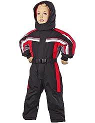 Invierno Opening | peem Traje de esquí para niños lc131680–110, invierno, niño, color negro, tamaño 4 años (104 cm)
