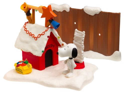 Click for larger image of A Charlie Brown Christmas: Snoopy's Doghouse Playset