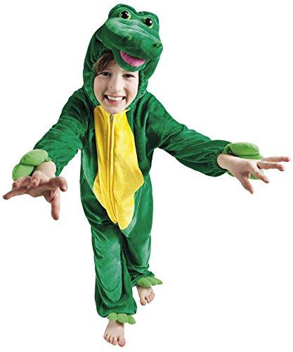 Krokodil Kostüm Kinder - B88048-116 Krokodil Kostüm Kinder bis max. 116 cm Körpergröße