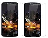 #5: IDEAL Offer For Motorola Moto G5s PLUS / G5s+ {BUY 1 GET 1 FREE} - TrendzOn® Premium Anti Explosion Tempered Glass,9H Hardness Ultra Clear,Anti-Scratch,Bubble Free,Anti-Fingerprints & Oil Stains Coating for Motorola Moto G5s PLUS / G5s+ - CLEAR [PACK OF 2]