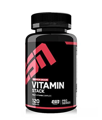 #ESN Vitamin Stack, 120 Kaps.#