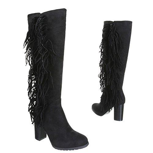 Chaussures, bottes, a632 Noir - Noir
