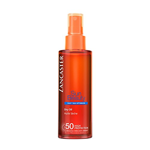 LANCASTER SUN BEAUTY dry touch oil fast tan SPF50...