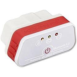 Starter KONNWEI KW901 Bluetooth 4.0 ODBII detector de coche herramienta de diagnóstico de detección de fallas para IOS