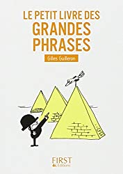 Le Petit livre de - Les grandes phrases