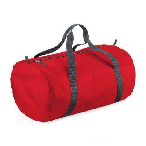 Shirtstown Packaway Barrel Bag, Umhängetasche, Schultertasche, Kult classicred