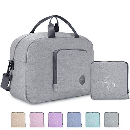 Faltbare Reisetasche 20L, Superleichte Reisetasche für Gepäck Sport Fitness Wasserdichtes von WANDF