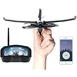 tobyrich smartplane Pro FPV: Smartphone Application gesteuertes VR Stunt Avion–Virtual Reality Drone à Distance pour iOS et Android