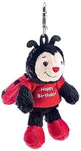 Schaffer 2523Llavero de Peluche Mariquita Happy Birthday