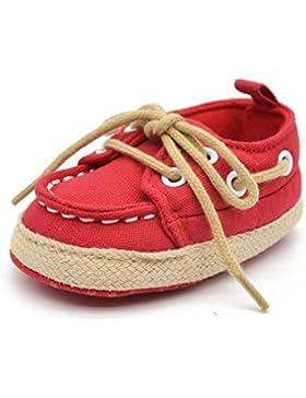 Babyschuhe Longra Baby Kleinkind Kind junge Mädchen weichen Sohle Sneaker lauflernschuhe krabbelschuhe (0 ~ 18...
