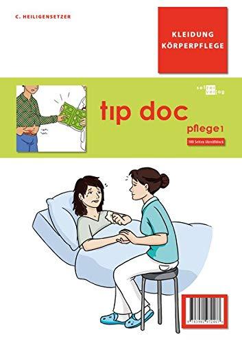 tıp doc pflege1 Block: Kleidung Körperpflege (tıp doc / Arzt-Patient-Gespräch in Bildern)