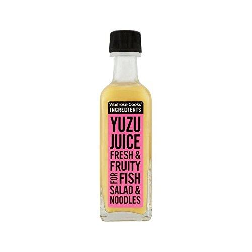 Les Ingrédients De Cuisiniers Yuzu Jus Waitrose 60Ml - Paquet de 6